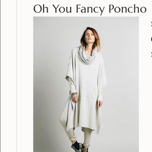 Oh you fancy free people beach pullover